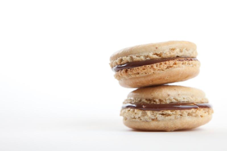 Mocha Macaron2