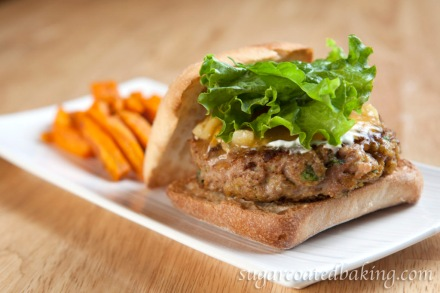 Chicken and Apple Chutney Burger