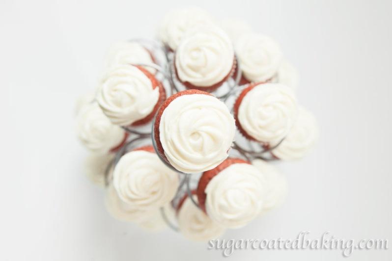 Mini Red Velvet Cupcakes