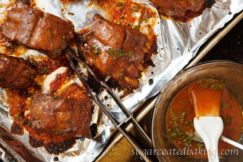 Rib sauce recipe: SugarCoatedBaking