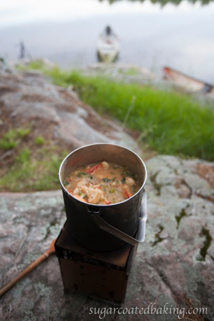 Camping Lobster Etouffee