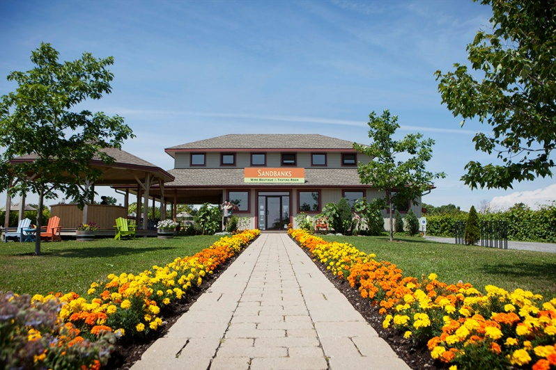 Sandbanks Winery, Prince Edward County, Ontario, Canada