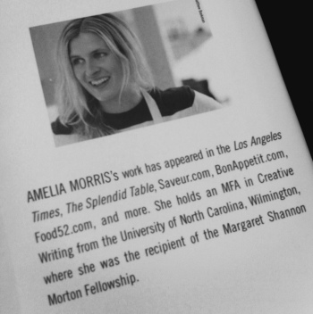 Amelia Morris - details