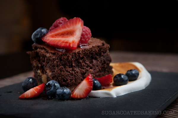 Sugar Coated Baking, Chocolate Smore Brownies