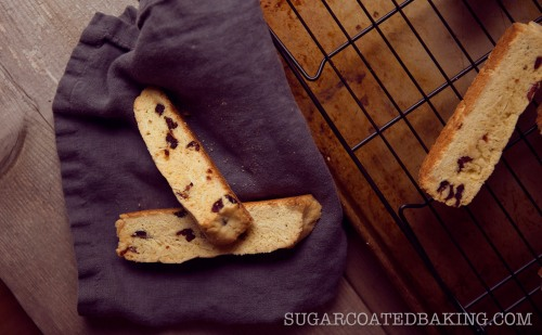 Biscotti recipes from Sugar Coated Baking