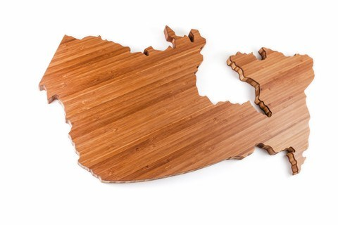 This Canada shaped cheese board will please the chef in your life. It is made from bamboo and in Canada! Check out Boogie and Birdie in Ottawa to get your hand on one.