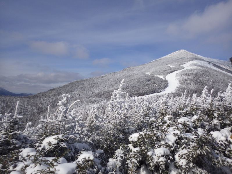 One of the mountains of Whiteface. It is actually the 5th highest mountain in the U.S. state of New York. Amazing view.