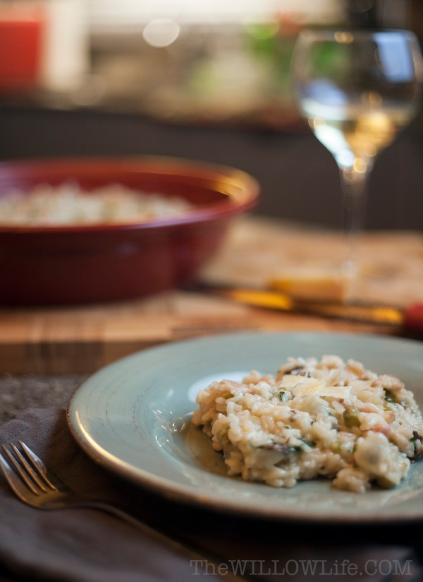 Making Risotto With Sabatier Products